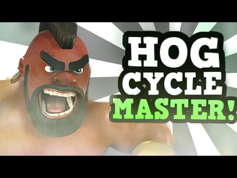 """HOG CYCLE :: OLD & NEW POST """"BUFF"""" w/ SushiPayPay!!! :: Clash Royale PRO TIPS"""