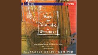 Douze Études pour guitare - No. 6 Poco Allegro-Meno