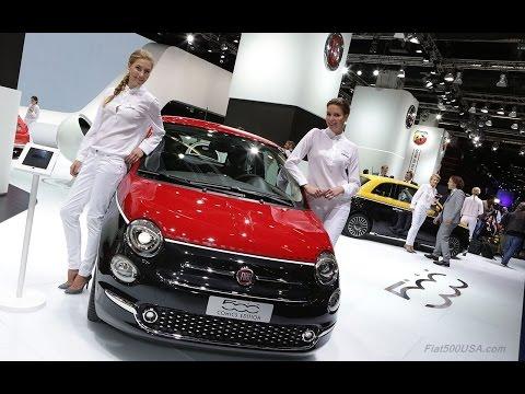 Fiat at 2015 Frankfurt Motor Show