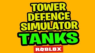 💥 ROBLOX TOWER DEFENSE TANKS UPDATE BETA | ALL CODES 💥