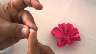 Repeat youtube video ดอกไม้ติดมุมบอร์ด