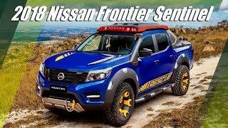 2018 Nissan Frontier Sentinel - Rescue Pickup Truck Concept