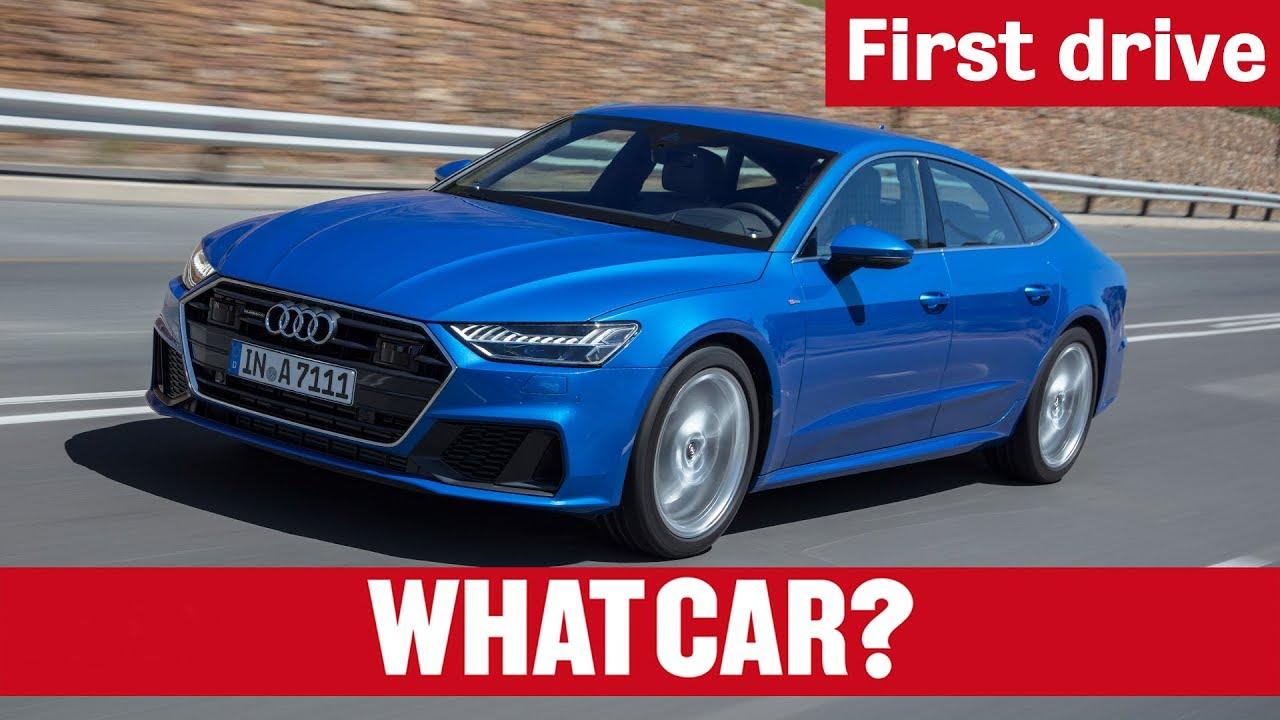 2018 Audi A7 First Drive   What Car? - Dauer: 3 Minuten, 6 Sekunden
