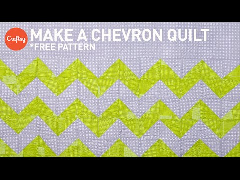 photo relating to Free Printable Chevron Quilt Pattern named Chevron quilt venture stage by means of phase (with no cost practice!) Quilting Information