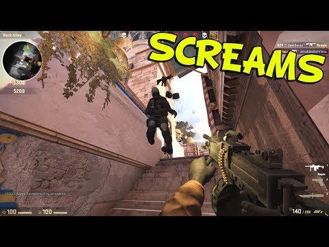 SCREAMS - CS GO Funny Moments