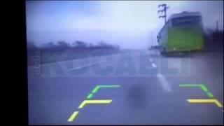 İşte motosiklet faciasının yaşandığı o an!