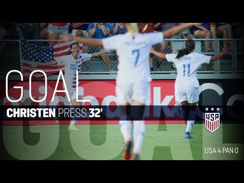 WNT vs. Panama: Christen Press Goal - Oct. 7, 2018