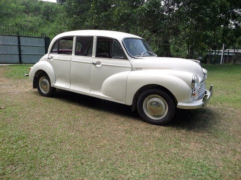 Morris Minor Limousine Trip - Classic Car Club of Ceylon - Sri Lanka