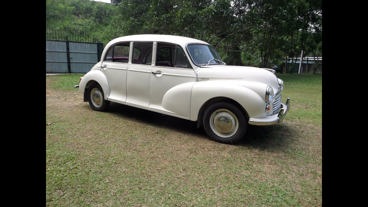 Morris Minor Limousine Trip Classic Car Club Of Ceylon Sri