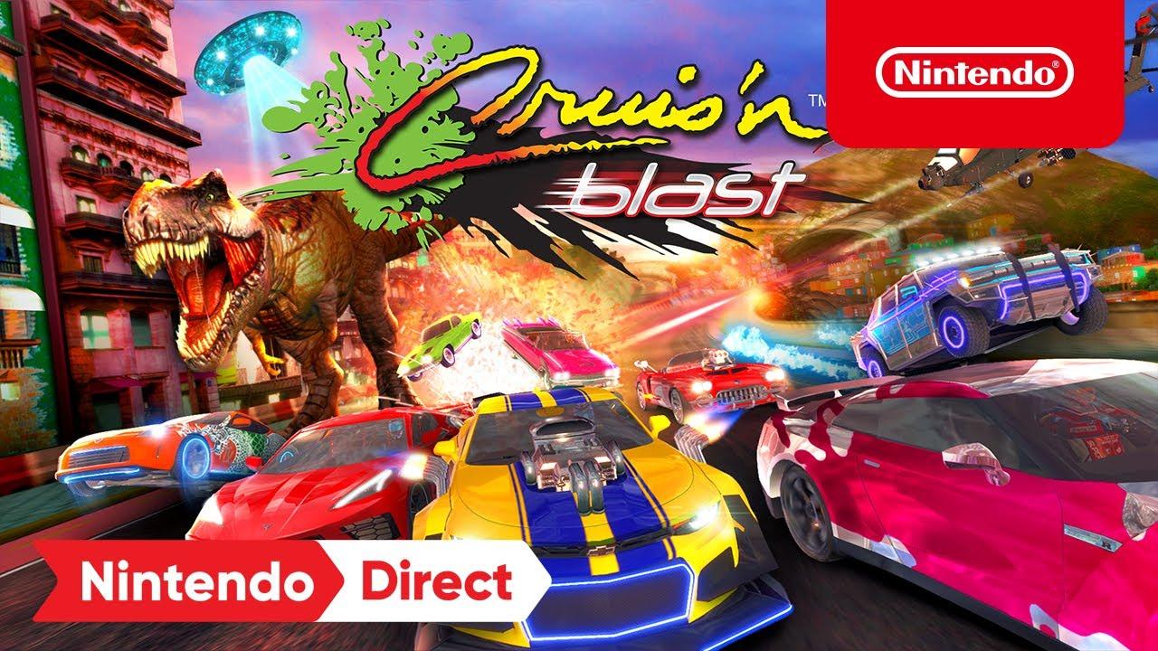 Cruis'n Blast - Announcement Trailer - Nintendo Switch | E3 2021 - YouTube