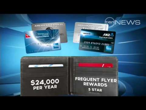 Frequent flyer points and reward programs