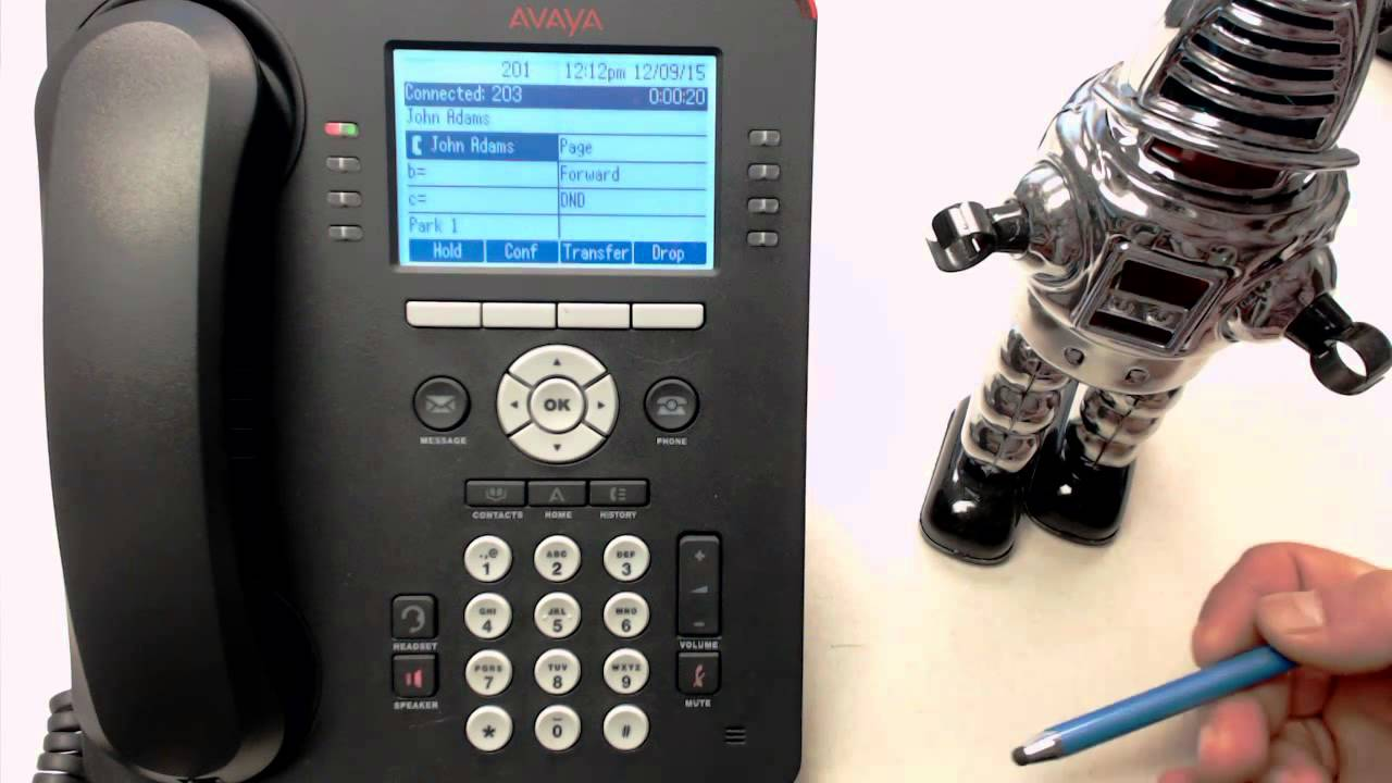 how to put your avaya phone on do not disturb