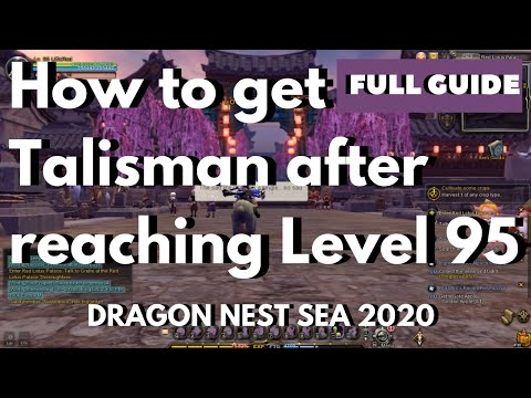 How To Get Talisman After Reaching Level 95 + Tips On Deep Abyss Of Nightmare | Dragon Nest SEA 2020