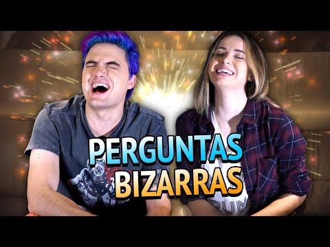 RESPONDENDO PERGUNTAS BIZARRAS C/ NAMORADA