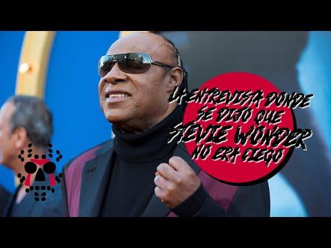 La NO ceguera de Stevie Wonder