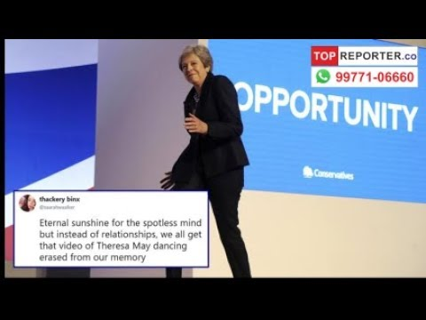 Theresa May dances to ABBA's Dancing Queen, Netizens are freaking out | Topreporter news