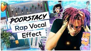 Punk Rap Vocal Effect In FL Studio (Poorstacy Vocal Effect)🎸☄