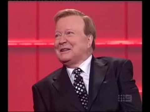 Bert Newton's 70th Birthday - Visit by the 'Queen