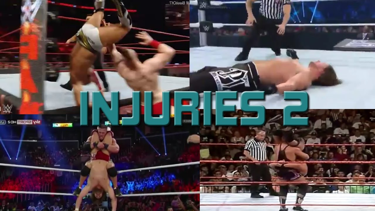 Wwe Accidents Injuries And Saves Part 2 Youtube