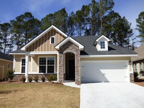 New Hampton Lake David Weekley Tybee Model Home