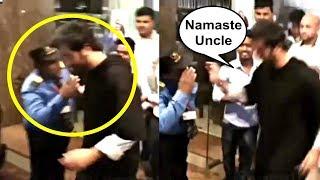 Ranbir Kapoor Sweet Gesture Towards A Watchman During Sanju Promotion