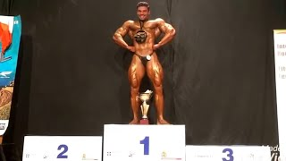 Professional Mr.World-2017 Bodybuilding championships over all title winner Wasim khan -Indian Tiger