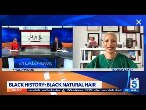 History of Black Hair | Black History Month (KTLA-5/The CW Live #1 Morning News)