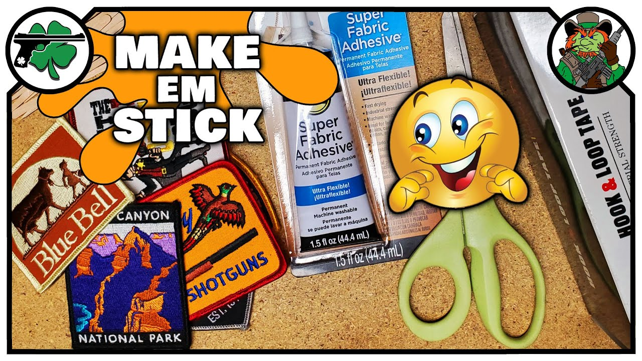Add Hook and Loop to Any Patch | Quick & Easy Velcro