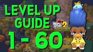 MapleStory 2 - Ultimate Level Up Guide! [1-60 Cap GMS2]