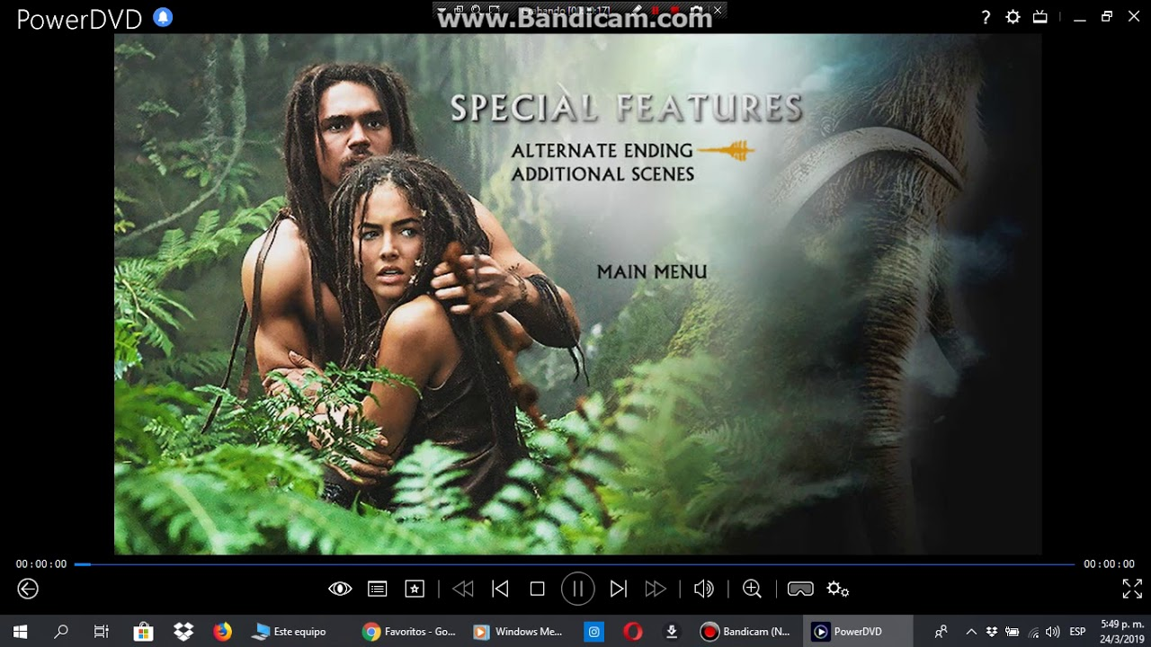 Menu From 10000 Bc 2008 Dvd Youtube