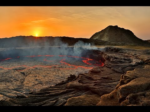 ERTA ALE VOLCANO - Part 1: The Largest Permanent Lava Lake on Earth, Ethiopia (Erupting Lava Lake)