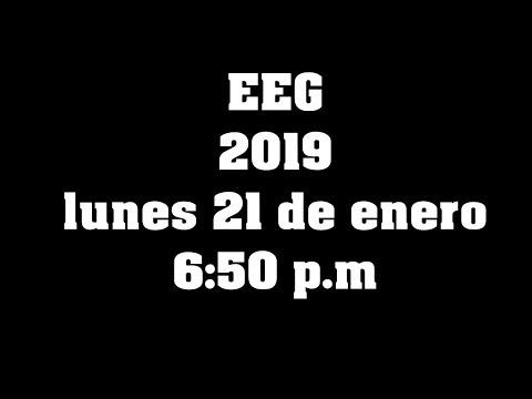 EEG 2019 : ESTRENO 21 DE ENERO