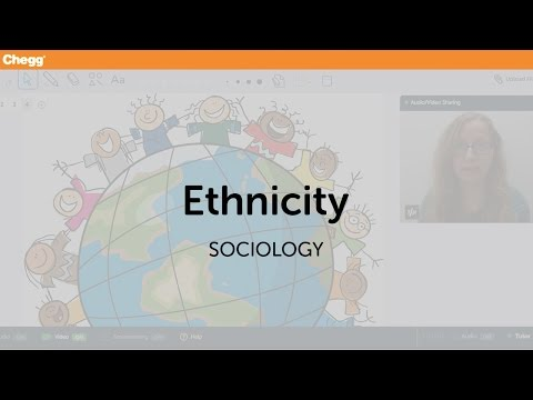 Ethnicity | Sociology | Chegg Tutors
