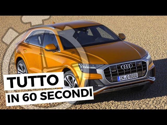 AUDI Q8 2021 | Tutto in 60 secondi