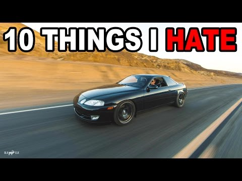 10 Things I HATE about my Lexus SC300