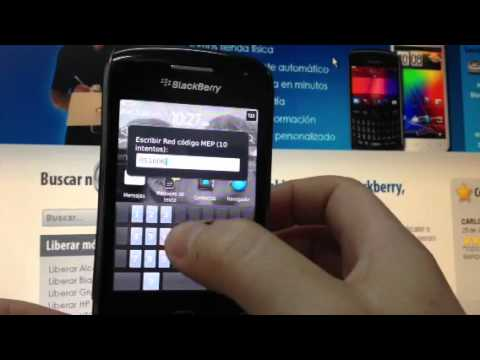 Cómo liberar Blackberry 9380 Curve mediante imei code