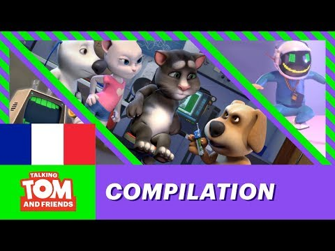 Talking Tom and Friends - Collection d'épisodes 1-4