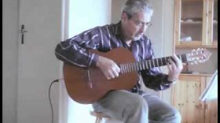 Amor de mis amores  (La Foule) - for solo acoustic guitar