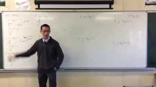 Graphing Logarithmic Functions (2 of 4: Shift + Compression)