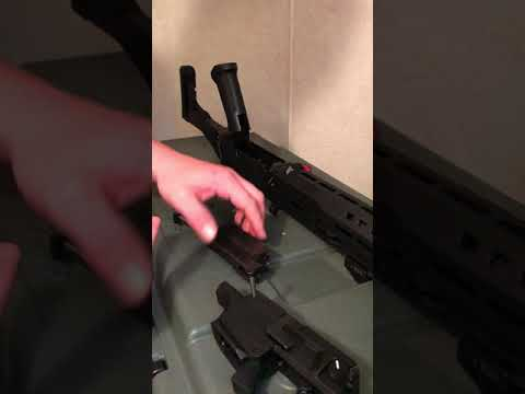 CZ Scorpion EVO 3 S1 carbine Disassembly for cleaning