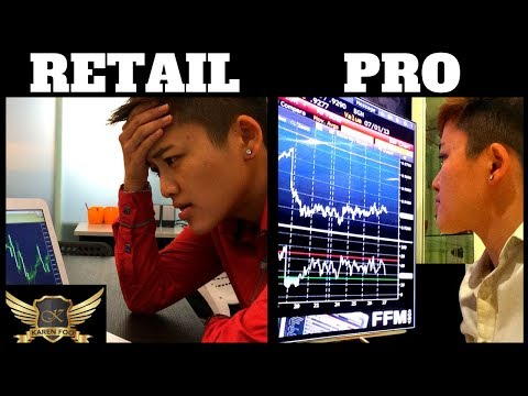 Professional Traders Vs. Retail Forex Traders (3 Differences)