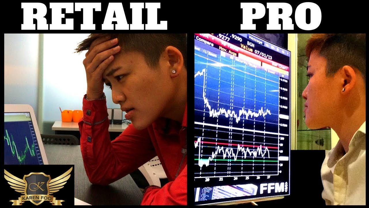 How professional traders trade forex