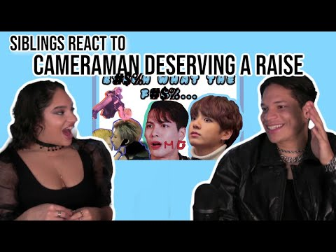 """Siblings React To [KPOP AWARD SHOW'S] CAMERAMAN DESERVING A """"RAISE"""" FOR 5 MINUTES.😂😭"""