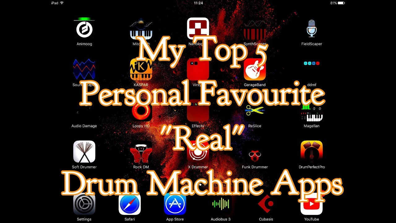 Top Free Drum Machine Apps : my top 5 personal favourite real drum machine apps for the ipad youtube ~ Russianpoet.info Haus und Dekorationen