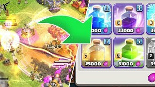 INCANTESIMI GUARIGIONE MAXATI !! Clash of clans ITA