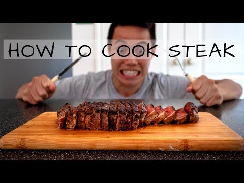 How To Cook The Perfect Pan Seared Steak: A Beginner's Guide   Jono Ren (Episode 7)
