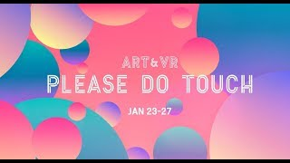 [문화예술&VRAR] ART&VR Fest. 2019.1.23-27