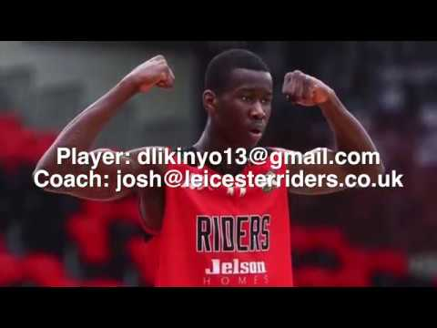 "David Likinyo (Class of 2018) - 6'5"" Forward - 2016/17 Highlights"
