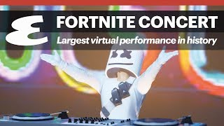 Why the Marshmello x Fortnite concert is such a big deal