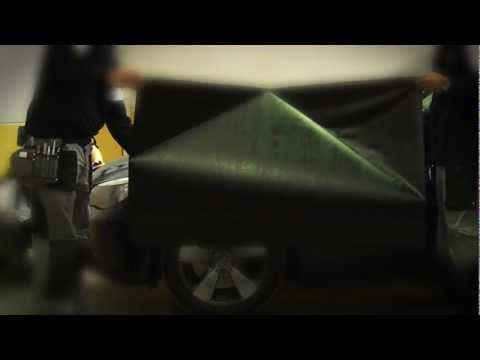 CAR WRAPPING BMW E60 530D MATTE BLACK VINYL 3M 1080 SERIES VINELIT